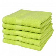 Toallas de baño 5 uds algodón 500 gsm 50x100...
