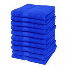 Toallas de cortesía 10 uds algodón 500 gsm...