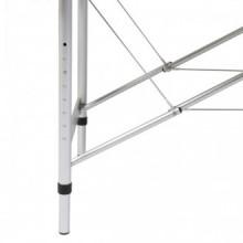 Mesa camilla de masaje de aluminio plegable de...