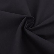 Set Funda de edredón 3 piezas algodón negro...