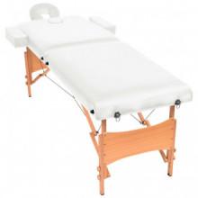 Camilla de masaje plegable con 2 zonas 10 cm de...