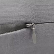 4 fundas grises para cojines de algodón, 4040...
