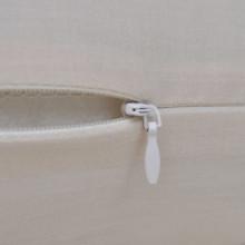 4 fundas beige para cojines de algodón, 4040...