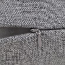 4 fundas color antracita para cojines de...