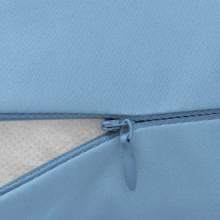 Almohada de embarazo 40x170 azul claro Vida XL