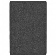 Alfombra de nudo 160x230 gris antracita Vida XL