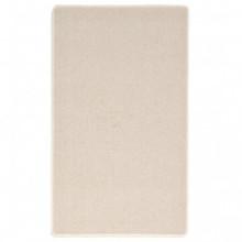 Alfombra de nudo 80x150 beige Vida XL