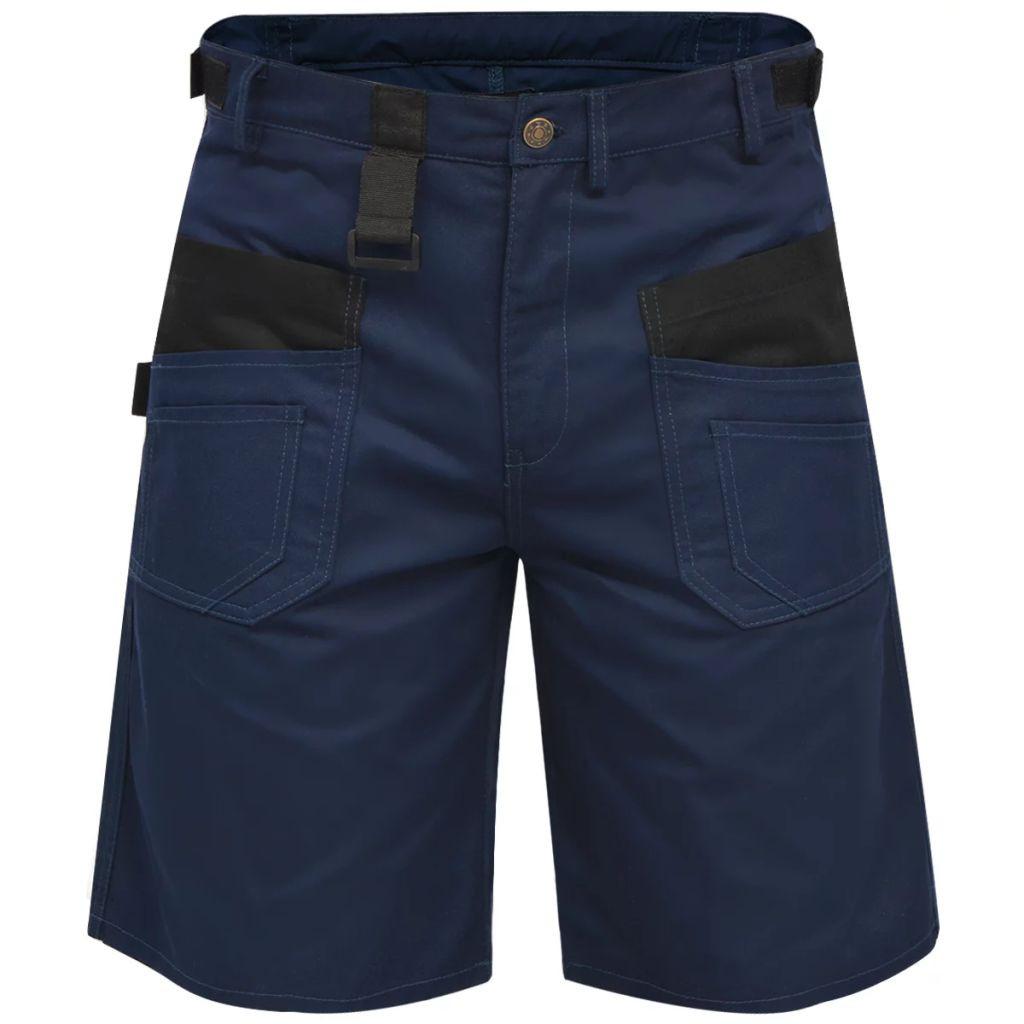 Pantalones Cortos De Trabajo De Hombre Talla Xxl Azul Vida Xl 131829 Comprar