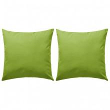 Cojines para exteriores 45x45 verde manzana 2...