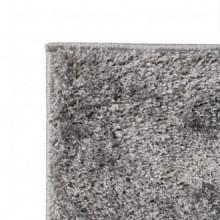 Alfombra shaggy peluda 80x150 gris Vida XL