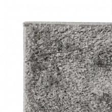 Alfombra shaggy peluda 140x200 gris Vida XL