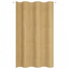 Toldo cortina para balcón PEAD beige 140x230cm...