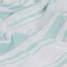 Cortinas y anillas demetal 2 pzs algodón azul...