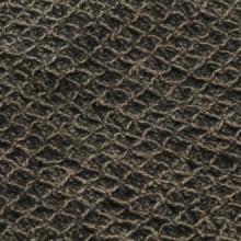 Manta de algodón gris antracita/marrón...
