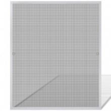 Mosquitera para ventana blanca 100x120cm Vida XL