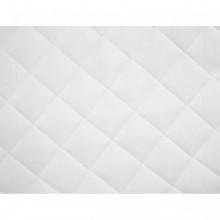 Protector de colchón acolchado pesado blanco...