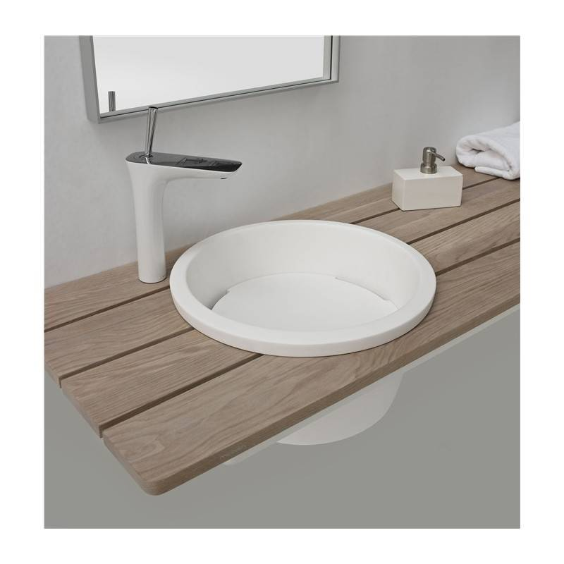 Mueble lim n con lavabo materiales de f brica for Muebles limon
