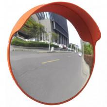 Espejo de tráfico convexo plástico naranja 45cm...