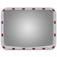 Espejo convexo rectangular para el tráfico con...
