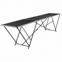 Mesa para empapelar plegable demDF y aluminio...