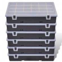 Torre de 6 cajas de herramientas, Vida XL