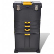 Caja de herramientas carrito portátil Vida XL