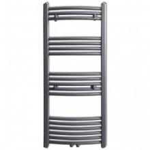 Radiador toallero curvo gris 500 x 1160mm Vida XL