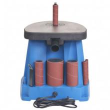 Lijadora de huso oscilante 450 W azul Vida XL