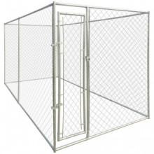 Perrera jaula de exterior 4x2x2m Vida XL