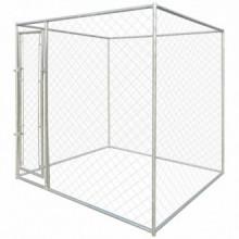 Perrera jaula de exterior 2x2x2m Vida XL