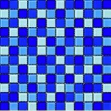 Malla CRISTAL azul