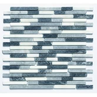 Mosaico PIEDRA Afyon gris