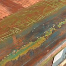 Mueble aparador de madera maciza reciclada con...