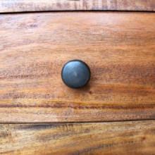 Aparador de madera maciza reciclada 100x30x50cm...