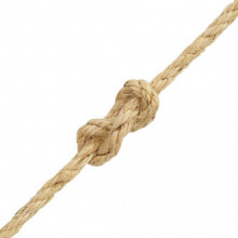 Cuerda 100% sisal 6mm 500m Vida XL
