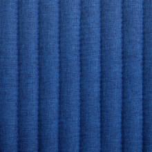 Sillas de comedor 2 unidades tela azul Vida XL