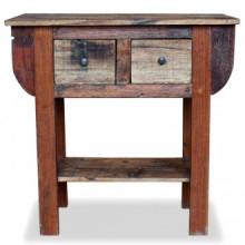 Mesa consola de madera maciza reciclada...