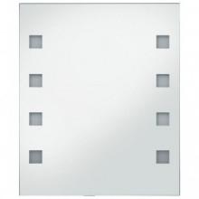 Espejo de pared de baño con LED 50x60cm Vida XL