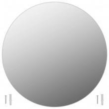 Espejo de pared redondo vidrio 60cm Vida XL