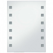 Espejo de pared de baño con LED 60x80cm Vida XL