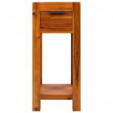 Mesa auxiliar de madera de acaciamaciza...