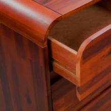 Mueble de cajonesmadera acaciamaciza 45x37x75cm...