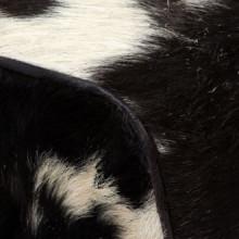 Taburete de cuero de cabra auténtico 40x30x45cm...