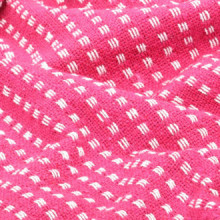 Manta a cuadros 160x210cm algodón rosa Vida XL