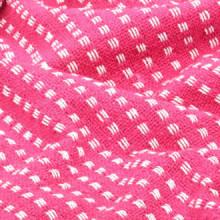 Manta a cuadros 220x250cm algodón rosa Vida XL