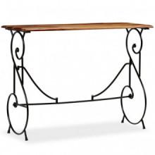 Mesa consola de madera maciza de sheesham...