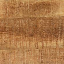 Mesa de comedor de madera de mango maciza y...