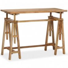 Mesa de dibujo de madera maciza de mango...