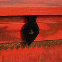 Baúl de almacenamiento de madera maciza de...