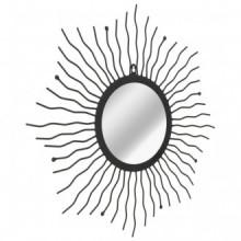 Espejo de pared con forma de sol radiante 60cm...